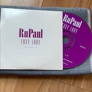 1996 Advance Copy of RuPauls Foxy Lady
